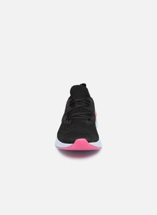 Zapatillas de deporte Nike W Nike Epic React Flyknit 2 Negro vista del modelo