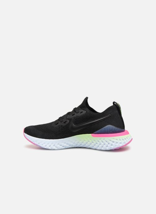 Zapatillas de deporte Nike W Nike Epic React Flyknit 2 Negro vista de frente