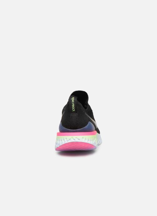 Chaussures de sport Nike W Nike Epic React Flyknit 2 Noir vue droite