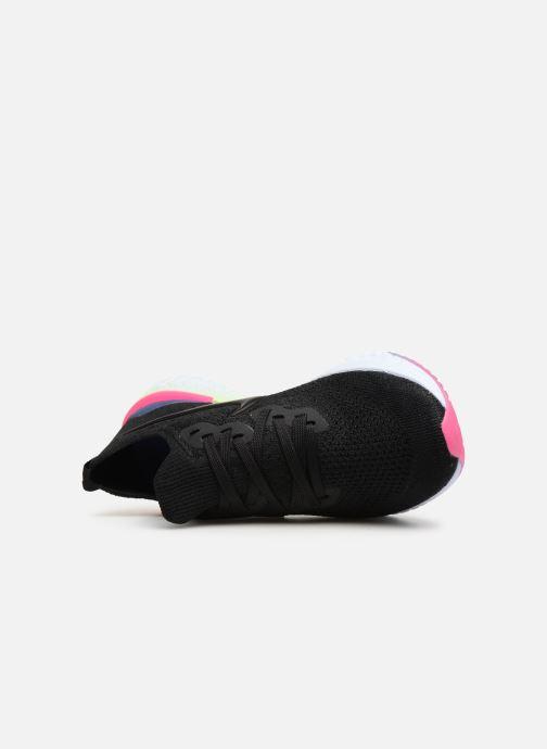 Zapatillas de deporte Nike W Nike Epic React Flyknit 2 Negro vista lateral izquierda