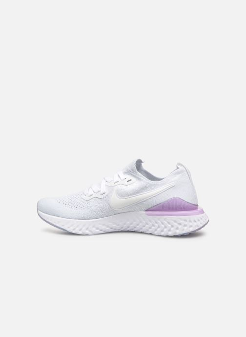 Chaussures de sport Nike W Nike Epic React Flyknit 2 Blanc vue face