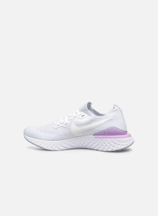 Chaussures de sport Nike W Nike Epic React Flyknit 2 Blanc vue face