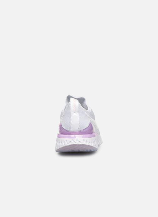 Chaussures de sport Nike W Nike Epic React Flyknit 2 Blanc vue droite