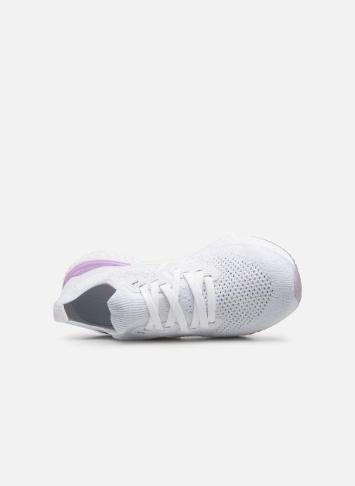 Chaussures de sport Nike W Nike Epic React Flyknit 2 Blanc vue gauche