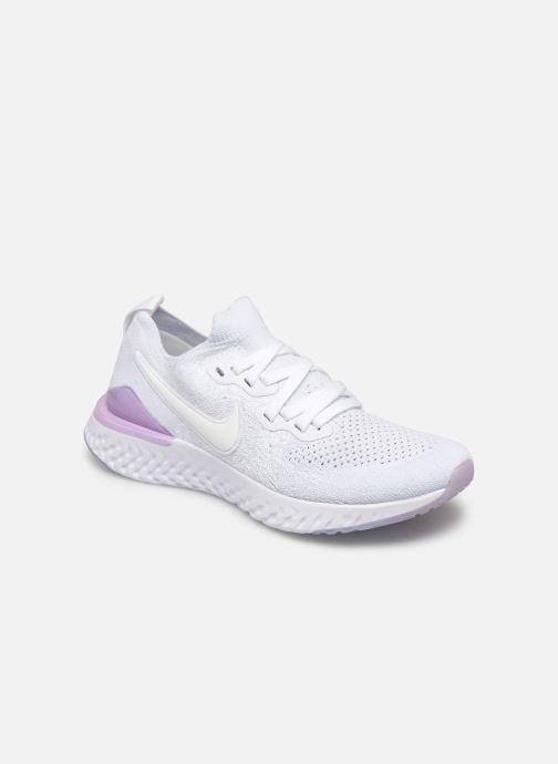 Chaussures de sport Nike W Nike Epic React Flyknit 2 Blanc vue détail/paire