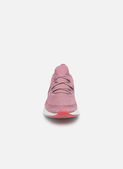 Sport shoes Nike W Nike Epic React Flyknit 2 Pink model view