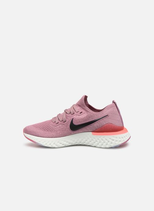 Sport shoes Nike W Nike Epic React Flyknit 2 Pink front view