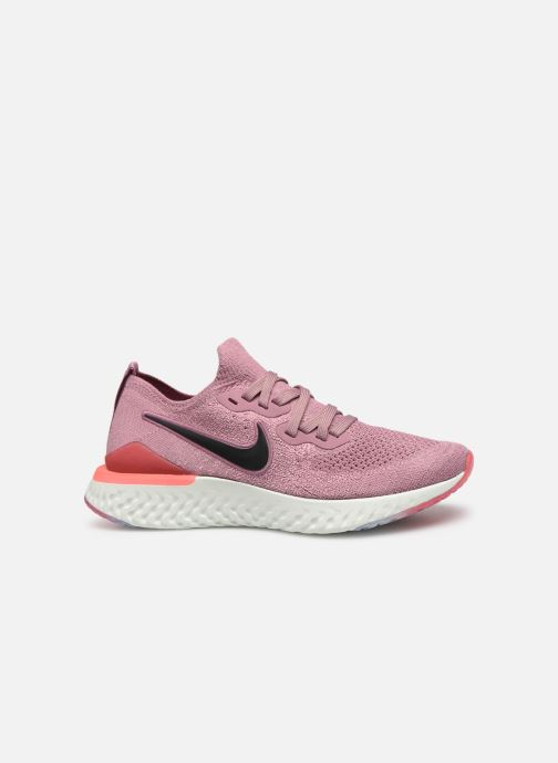 Sport shoes Nike W Nike Epic React Flyknit 2 Pink back view