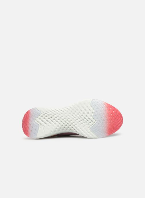 Sport shoes Nike W Nike Epic React Flyknit 2 Pink view from above