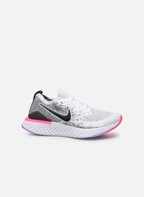 Scarpe sportive Nike W Nike Epic React Flyknit 2 Grigio immagine posteriore
