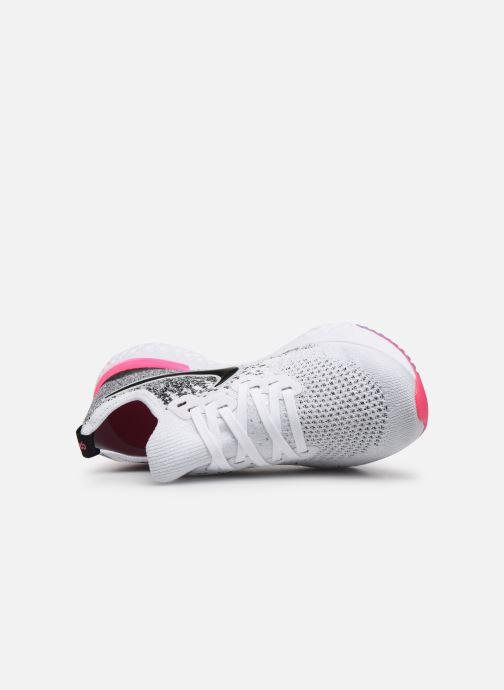Scarpe sportive Nike W Nike Epic React Flyknit 2 Grigio immagine sinistra