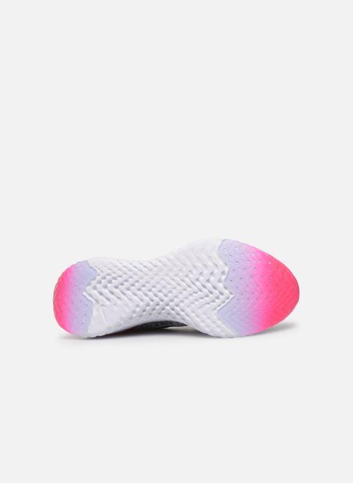 Scarpe sportive Nike W Nike Epic React Flyknit 2 Grigio immagine dall'alto