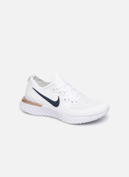 Nike W Nike Epic React Flyknit 2 (Blanc) Chaussures de