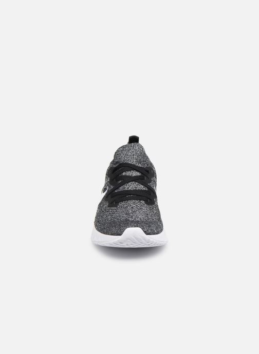 Chaussures de sport Nike W Nike Epic React Flyknit 2 Noir vue portées chaussures
