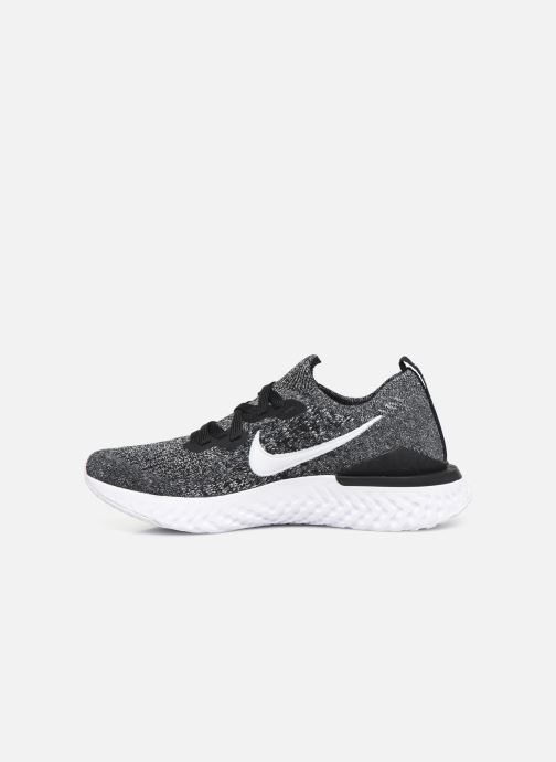 Chaussures de sport Nike W Nike Epic React Flyknit 2 Noir vue face