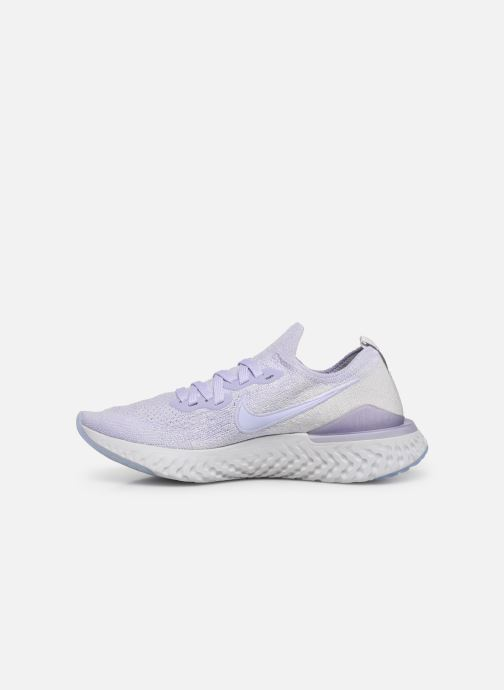 Chaussures de sport Nike W Nike Epic React Flyknit 2 Violet vue face