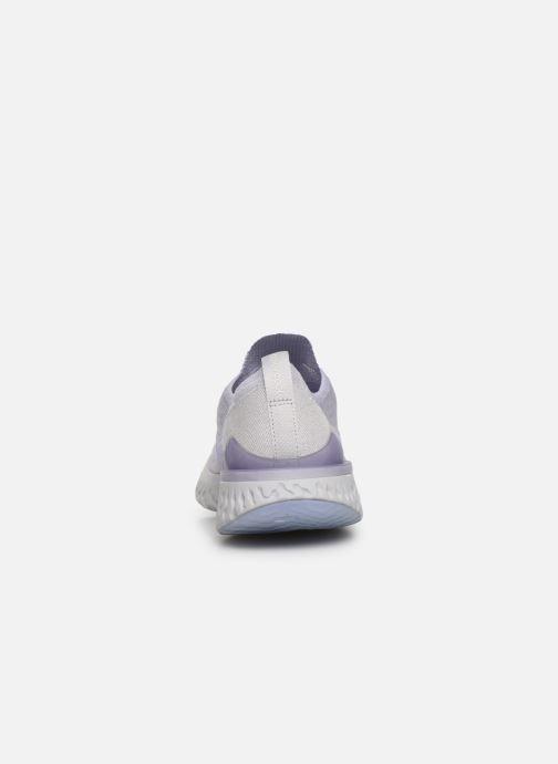 Chaussures de sport Nike W Nike Epic React Flyknit 2 Violet vue droite
