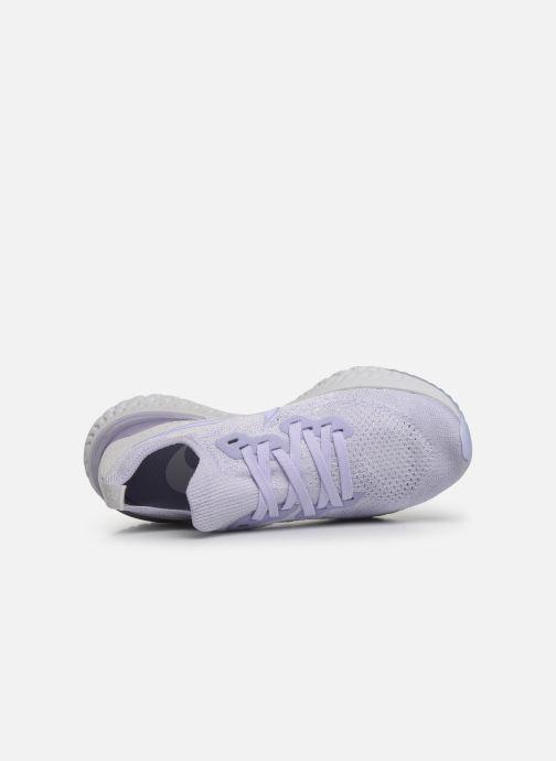 Chaussures de sport Nike W Nike Epic React Flyknit 2 Violet vue gauche