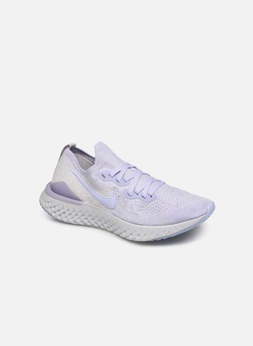 Chaussures de sport Nike W Nike Epic React Flyknit 2 Violet vue détail/paire