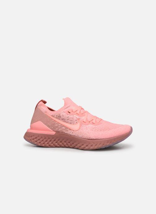 Sportschoenen Nike W Nike Epic React Flyknit 2 Roze achterkant
