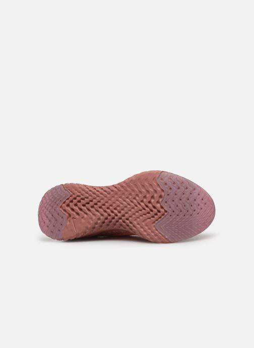 Chaussures de sport Nike W Nike Epic React Flyknit 2 Rose vue haut