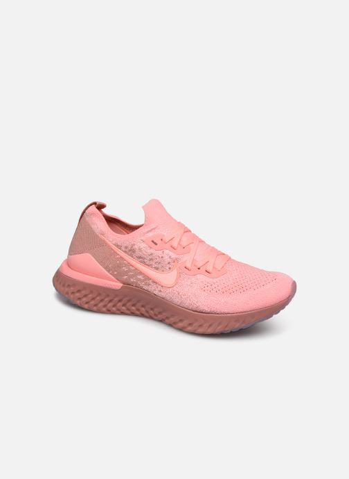 Chaussures de sport Nike W Nike Epic React Flyknit 2 Rose vue détail/paire