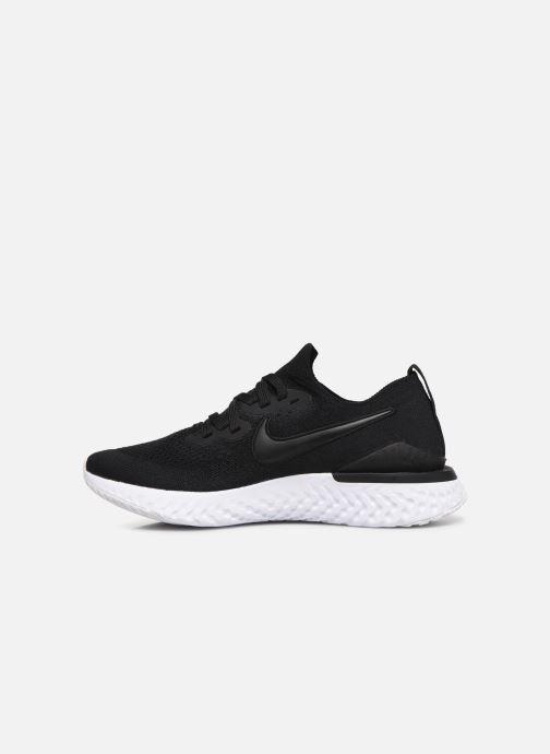 Sport shoes Nike W Nike Epic React Flyknit 2 Black front view