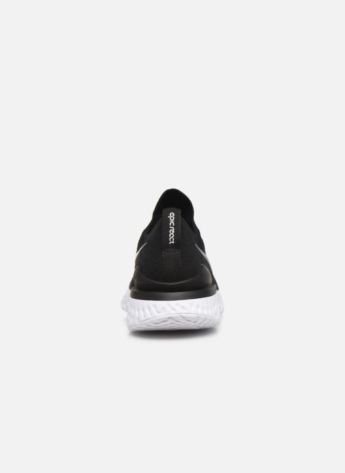 Sport shoes Nike W Nike Epic React Flyknit 2 Black view from the right