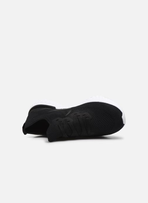 Sport shoes Nike W Nike Epic React Flyknit 2 Black view from the left