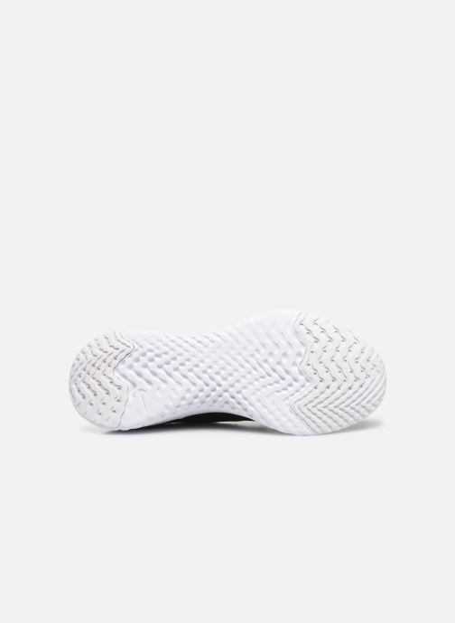 Sport shoes Nike W Nike Epic React Flyknit 2 Black view from above