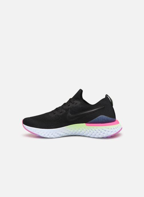 Chaussures de sport Nike Nike Epic React Flyknit 2 Noir vue face