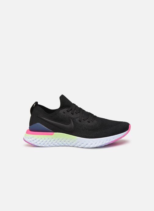 Sportschoenen Nike Nike Epic React Flyknit 2 Zwart achterkant