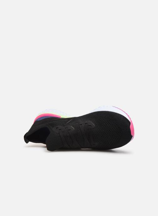 Sportschoenen Nike Nike Epic React Flyknit 2 Zwart links