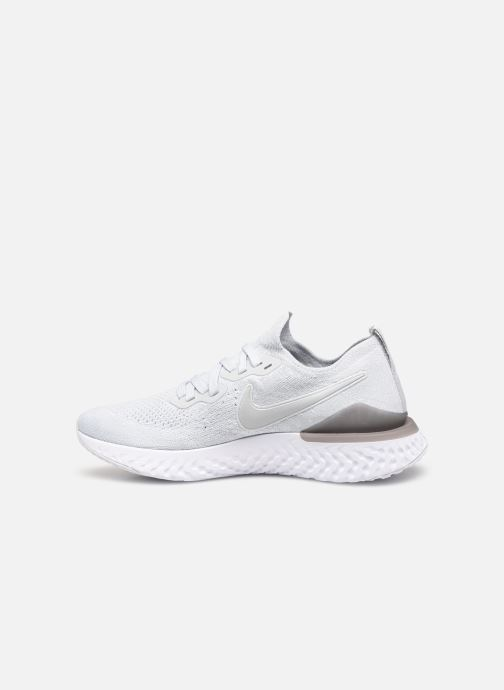 Chaussures de sport Nike Nike Epic React Flyknit 2 Blanc vue face