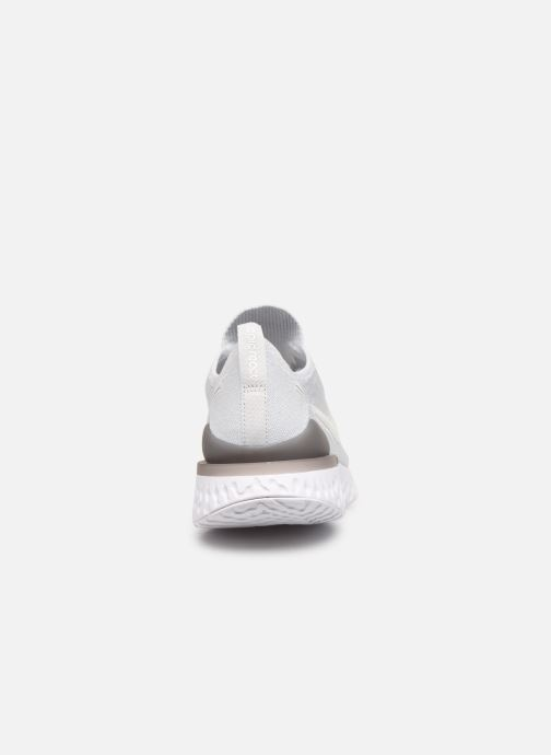 Chaussures de sport Nike Nike Epic React Flyknit 2 Blanc vue droite