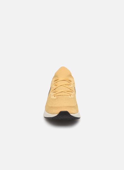 Sportschoenen Nike Nike Epic React Flyknit 2 Goud en brons model