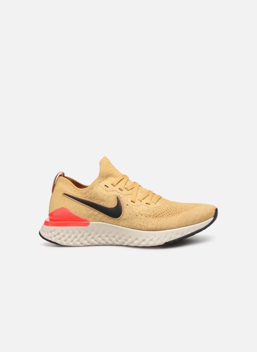 Sportschoenen Nike Nike Epic React Flyknit 2 Goud en brons achterkant