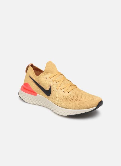 Sportschoenen Nike Nike Epic React Flyknit 2 Goud en brons detail