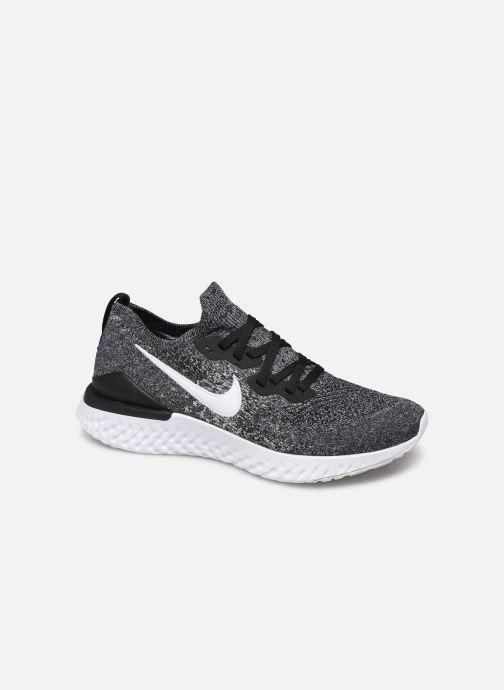Chaussures de sport Nike Nike Epic React Flyknit 2 Noir vue détail/paire