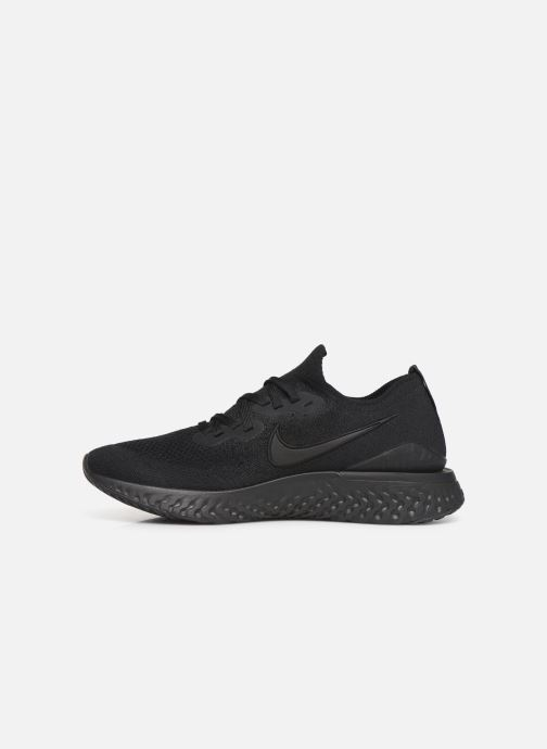 Sport shoes Nike Nike Epic React Flyknit 2 Black front view