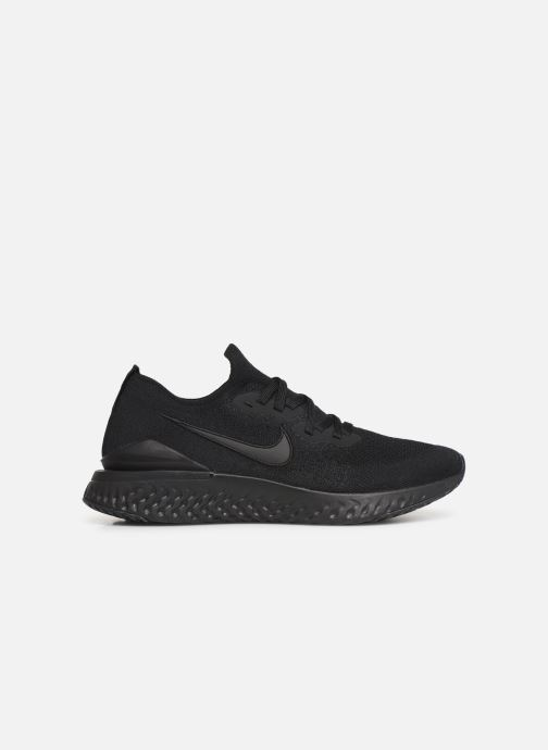 Sport shoes Nike Nike Epic React Flyknit 2 Black back view