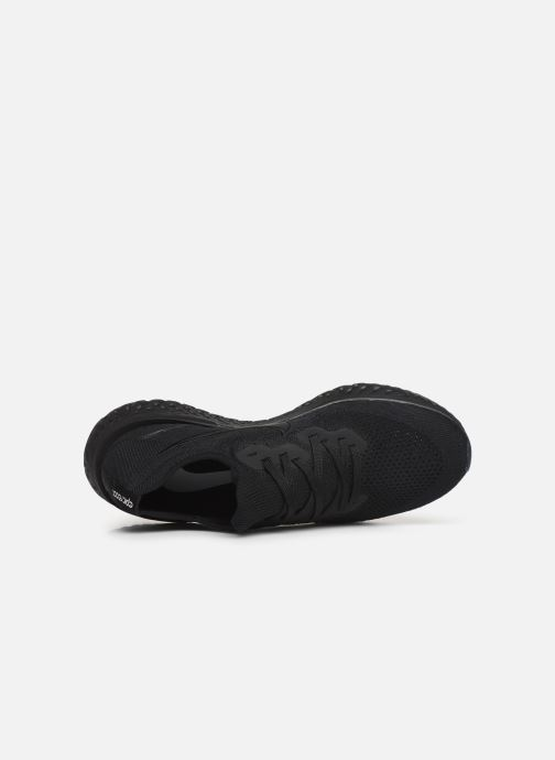 Sport shoes Nike Nike Epic React Flyknit 2 Black view from the left