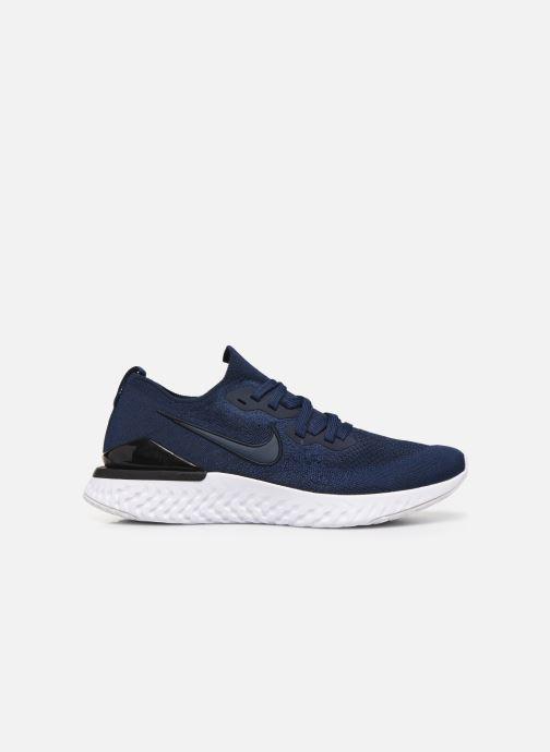 Chaussures de sport Nike Nike Epic React Flyknit 2 Bleu vue derrière