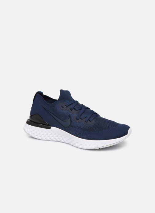 Chaussures de sport Nike Nike Epic React Flyknit 2 Bleu vue détail/paire