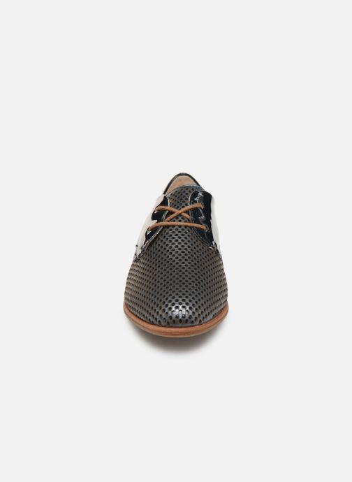 Chaussures à lacets Remonte Raven R2803 Bleu vue portées chaussures