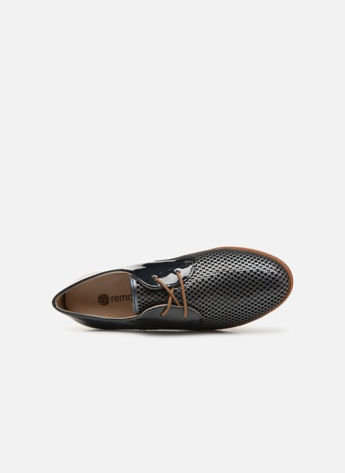 Chaussures à lacets Remonte Raven R2803 Bleu vue gauche