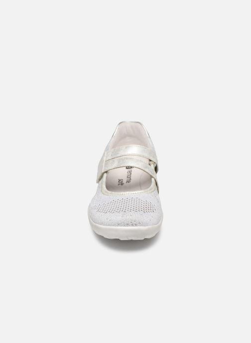Ballerines Remonte Sana R3506 Gris vue portées chaussures