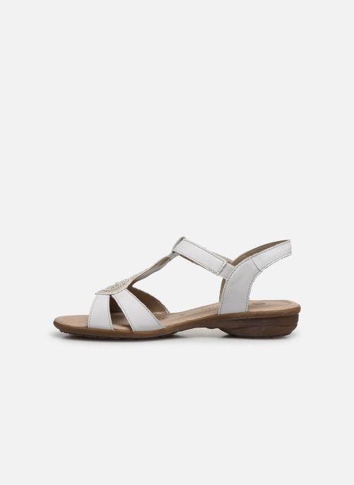 Sandales et nu-pieds Remonte Maria Blanc vue face