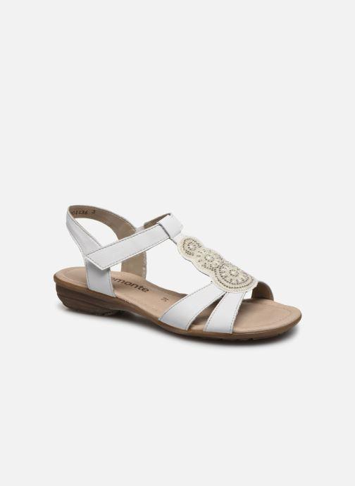 Sandales et nu-pieds Remonte Maria Blanc vue détail/paire