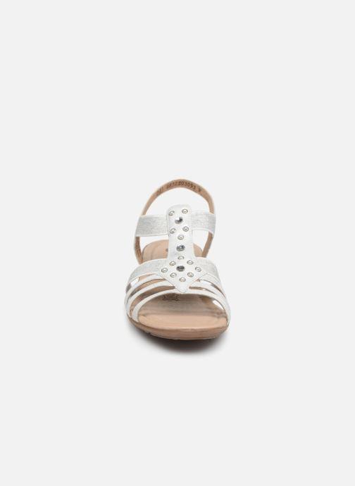 Sandales et nu-pieds Remonte Adaline Blanc vue portées chaussures
